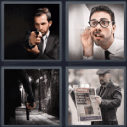 4-pics-1-word-agent