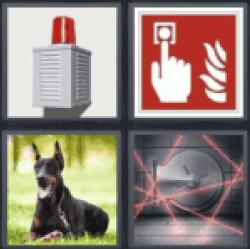 4 pics 1 word fire alarm
