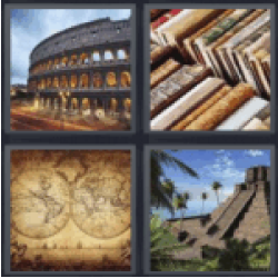 4 pics 1 word the coliseum