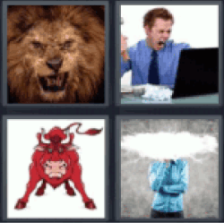 4-pics-1-word-angry