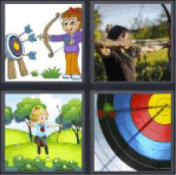 4-pics-1-word-archer