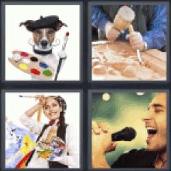4-pics-1-word-artist
