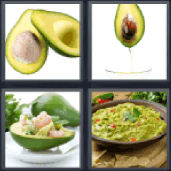 4-pics-1-word-avocado
