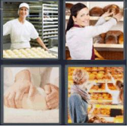 4-pics-1-word-baker
