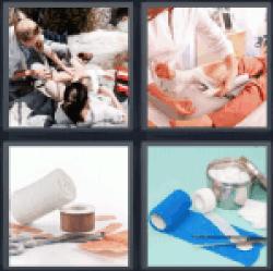 4-pics-1-word-bandage