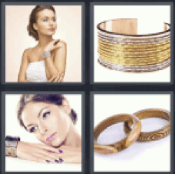 4-pics-1-word-bangle