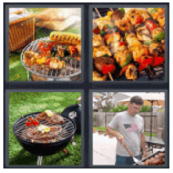 4-pics-1-word-barbecue