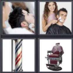 4-pics-1-word-barber