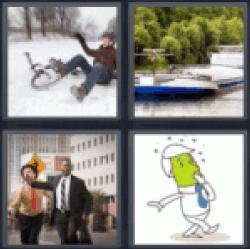 4-pics-1-word-barge