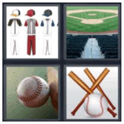 4-pics-1-word-baseball