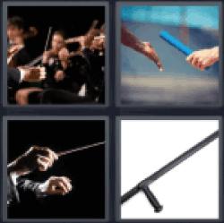 4-pics-1-word-baton