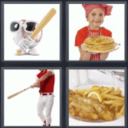 4-pics-1-word-batter