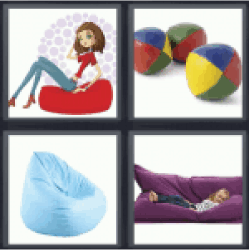 4-pics-1-word-beanbag