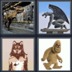 4-pics-1-word-beast