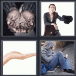 4-pics-1-word-beggar