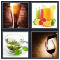 4-pics-1-word-beverage