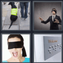 4-pics-1-word-blind