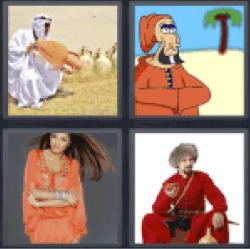 4-pics-1-word-caftan