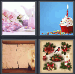 4-pics-1-word-candle