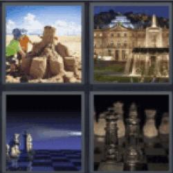4-pics-1-word-castle