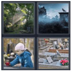 4-pics-1-word-cemetery