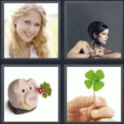 4 pics 1 word girl with blond hair