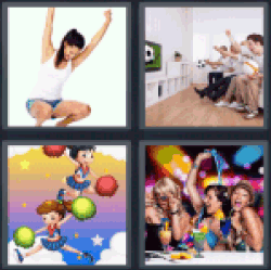 4-pics-1-word-cheer