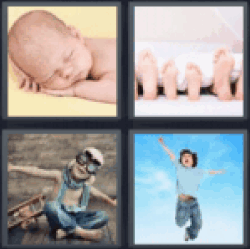 4-pics-1-word-child