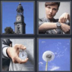 4-pics-1-word-clock