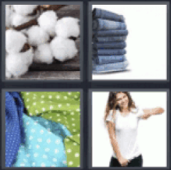 4 Pics 1 Word Cotton balls