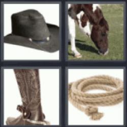 4-pics-1-word-cowboy