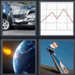 4 pics 1 word car accident