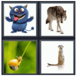 4-pics-1-word-creature
