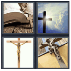 4-pics-1-word-crucifix