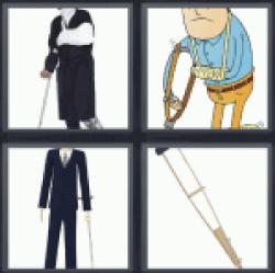 4-pics-1-word-crutch