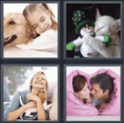4-pics-1-word-cuddle