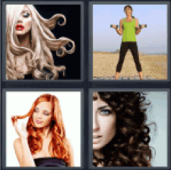 4-pics-1-word-curls