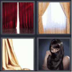 4-pics-1-word-curtain