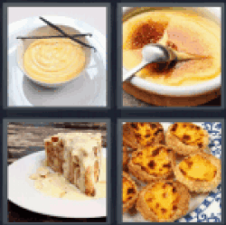 4-pics-1-word-custard