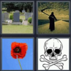 4-pics-1-word-death