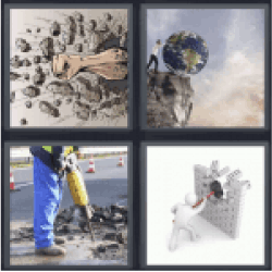 4-pics-1-word-destroy