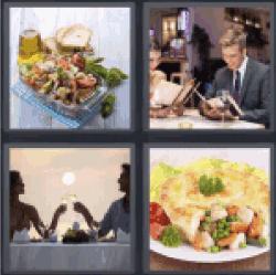 4-pics-1-word-dinner