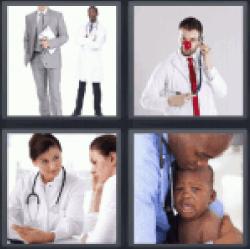 4-pics-1-word-doctor