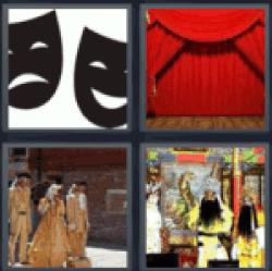 4-pics-1-word-drama