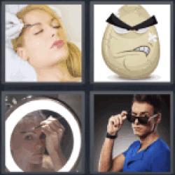 4-pics-1-word-eyebrow