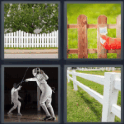 4-pics-1-word-fence