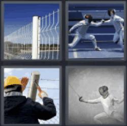 4-pics-1-word-fencing
