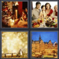 4-pics-1-word-festive