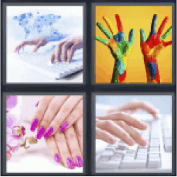 4-pics-1-word-fingers