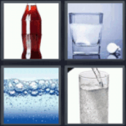 4 pics 1 word coke bottle